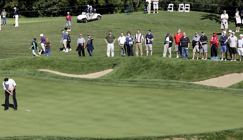 Many players at the BMW Championship have given the greens at Cog Hill harsh reviews.