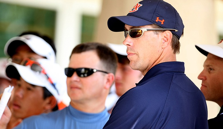 Auburn head coach Nick Clinard.