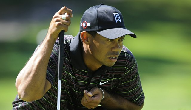 Tiger Woods shot 72 in Round 2 of the BMW Championship.