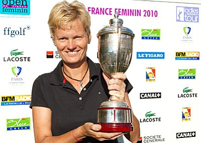 England's Trish Johnson claimed her 20th career title on Sept. 12, 2010.