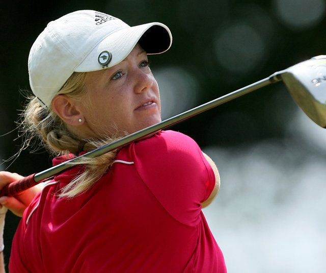 Amy Anderson during the U.S. Women&#39;s Amateur.
