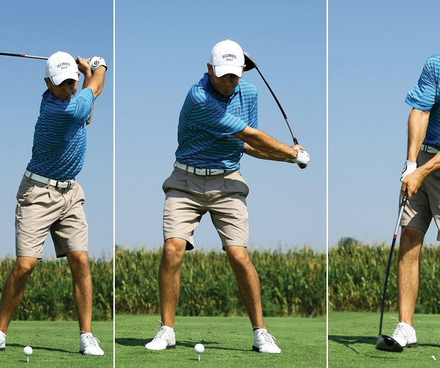 Scott Langley&#39;s swing sequence