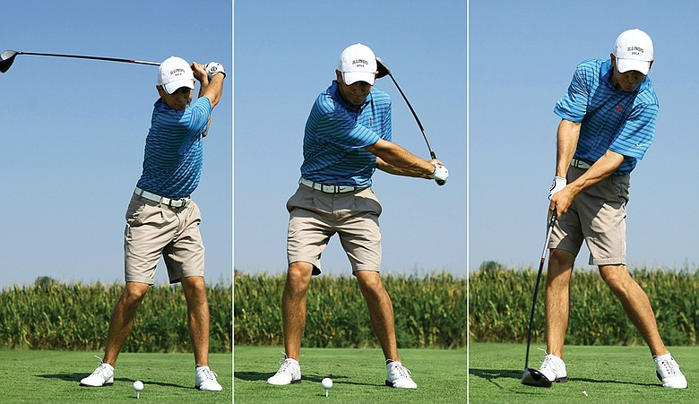 Scott Langley's swing sequence