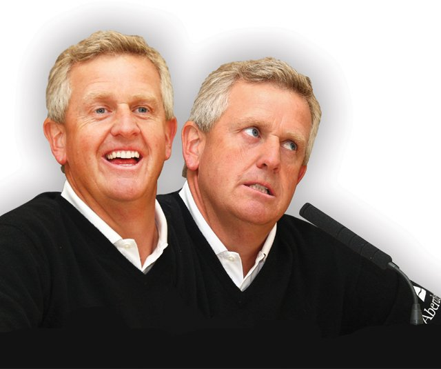 Colin Montgomerie, whose emotions can swing from charming to chafing in a nanosecond, carries plenty of baggage into Celtic Manor.