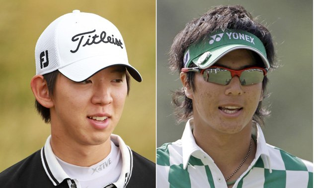 Noh Seung-yul of South Korea and Japanese star Ryo Ishikawa were born four months apart.