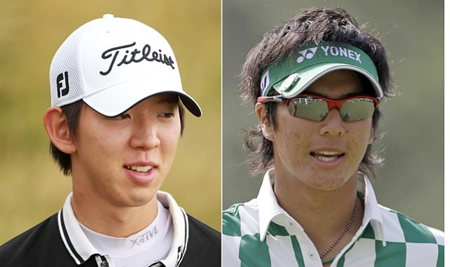 Noh Seung-yul of South Korea and Japanese star Ryo Ishikawa were born four months apart.