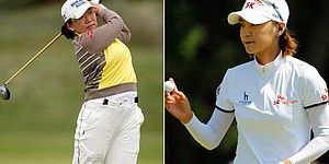 Shin, Choi donate KLPGA earnings to charity