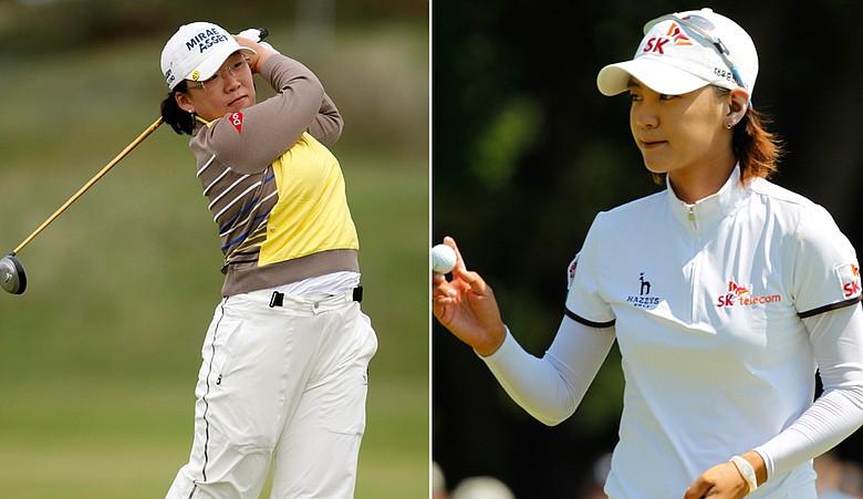 Jiyai Shin and Na Yeon Choi