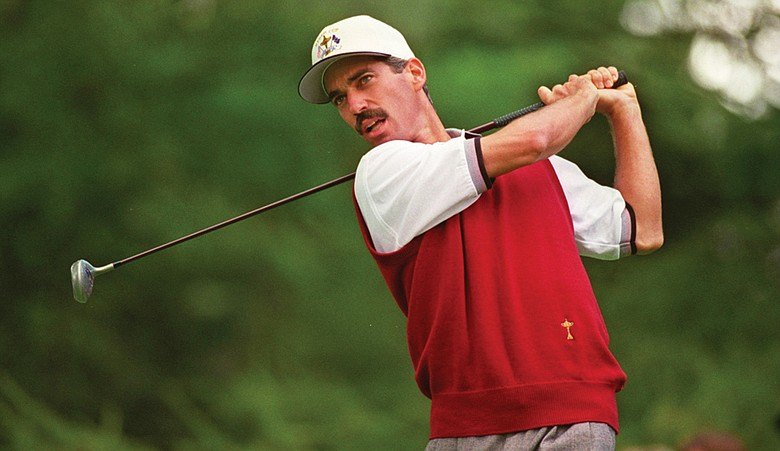 Corey Pavin, shown at the 1995 matches, hopes to bring his tenacious attitude to the American squad at this year's Ryder Cup.