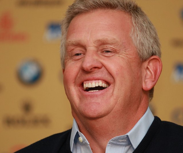 European Ryder Cup captain Colin Montgomerie