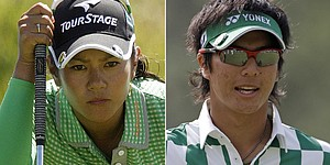 Miyazato, Ishikawa vie for Japan's fans in TV duel