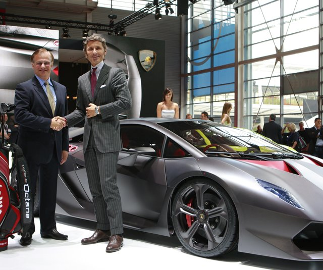 Lamborghini and Callaway announced a new partnership at the 2010 Paris Motor Show Sept. 30.