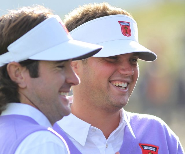 Bubba Watson and Jeff Overton