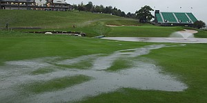 More rain leads to Ryder's first Monday finish