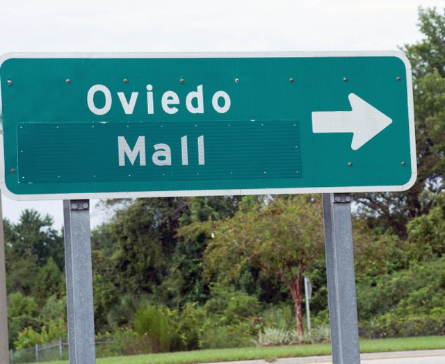 Fearing that some customers might pass it by, merchants at the Oviedo Marketplace renamed their freeway signs