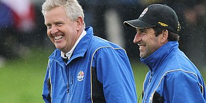 Montgomerie to hand captaincy to Olazabal?