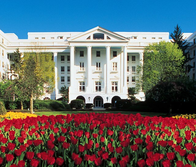 North Entrance of The Greenbrier