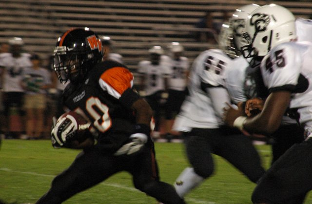 Winter Park's offense easily slashed through Cypress Creek's defense, racking up 43 points in an easy win.