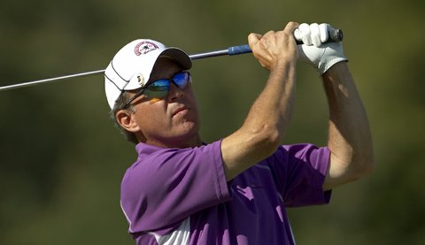 Chip Lutz during the U.S. Senior Amateur.