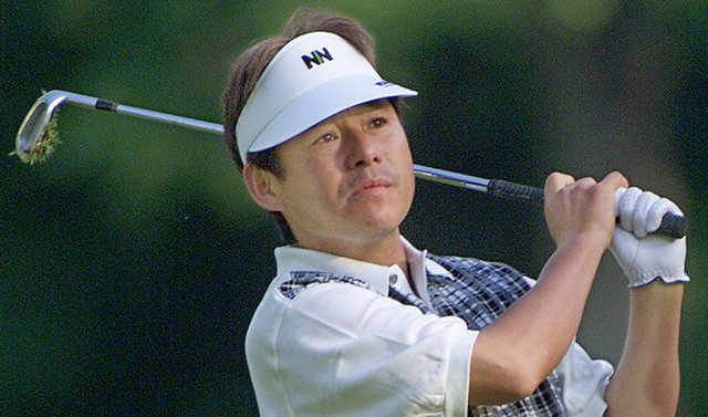 Jumbo Ozaki during the 1999 Kemper Open.