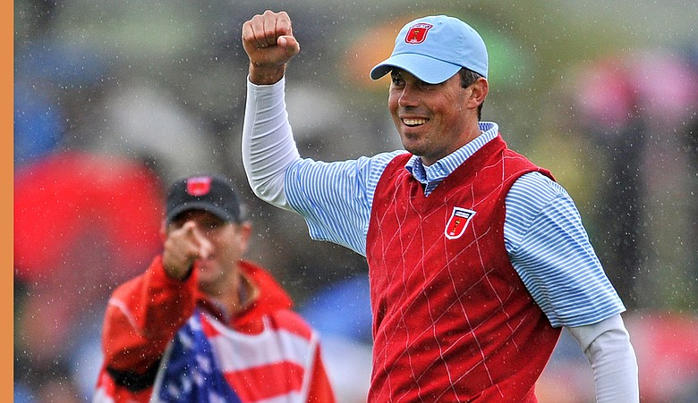 Matt Kuchar during the 2010 Ryder Cup.
