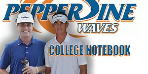 Pepperdine riding high with dynamic duo