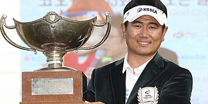 Yang stages comeback to win Korea Open