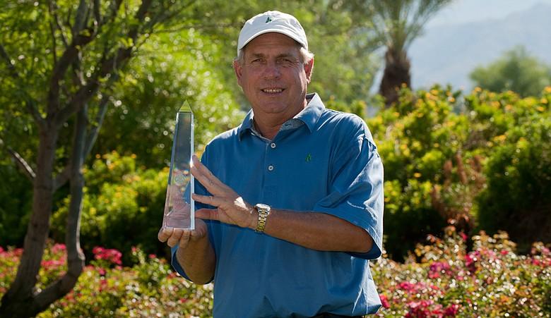 Robert Thompson won the Senior PGA Professional National Championship on Oct. 10.