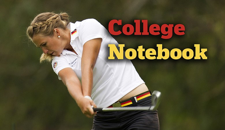 Pia Halbig is representing Germany at the Women's World Amateur Team Championship.
