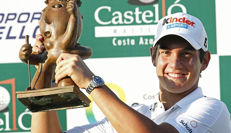 Matteo Manassero won the Castello Masters by four shots.
