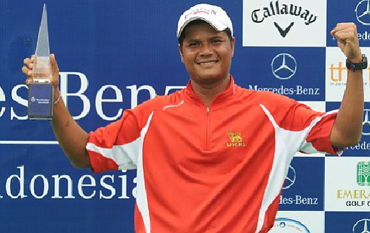 Atthaphon Prathummanee won the 2010 Mercedes-Benz Masters Indonesia.