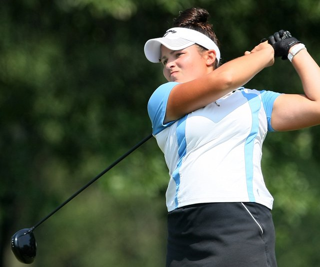 Wake Forest senior Natalie Sheary during the 2010 U.S. Women&#39;s Amateur. 