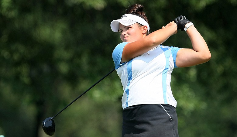 Wake Forest senior Natalie Sheary during the 2010 U.S. Women's Amateur.