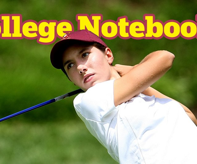 Carlota Ciganda of Arizona State during the 2009 NCAA Championship.
