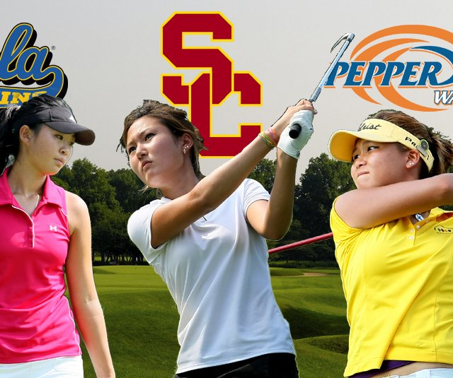 Erynne Lee, left, Kristen Park, center, and Grace Na are among the notable 2011 graduates to give verbal commitments prior to National Signing Day.