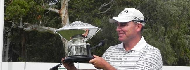 David Bransdon won the 2010 Western Australian PGA at Bunbury Golf Club.