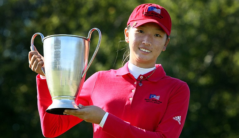 Doris Chen after winning the Golfweek Junior Invitational