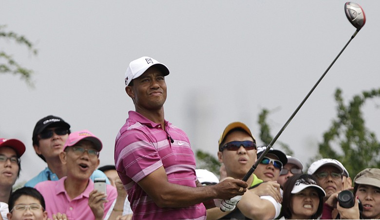 Tiger Woods during the 2010 World Golf Salutes King Bhumibol Skins Tournament