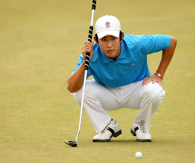 David Chung during the 2010 U.S. Amateur. 