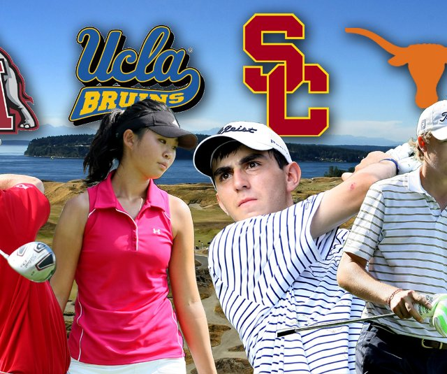 (From left) Justin Thomas, Erynne Lee, Anthony Paolucci and Jordan Spieth are among the notable Class of 2011 graduates to make verbal commitments.