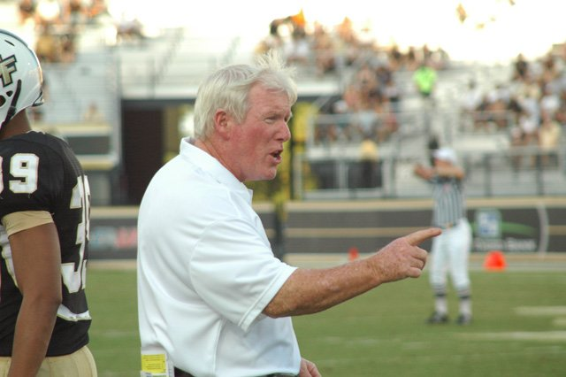 UCF head coach George O'Leary watched Friday night as his team defeated the best team in the Conference USA West Division — the Houston Cougars.