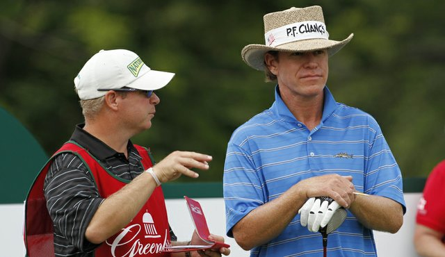 Briny Baird at the Greenbrier Classic.