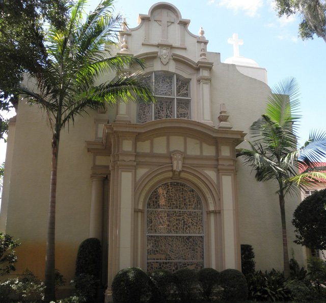 The First United Methodist Church of Winter Park's chapel. Visit www.fumcwp.org for more information on the organization.