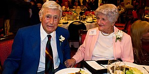 Inside Errie Ball's 100th birthday party