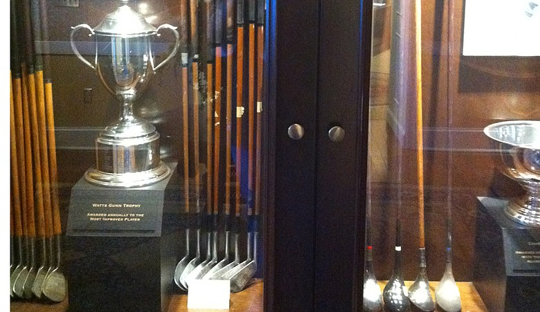 A look inside the Georgia Tech golf program's trophy case.