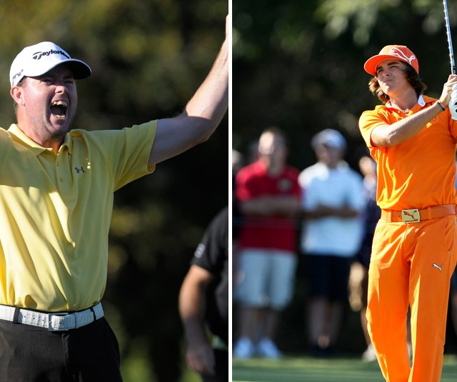 Robert Garrigus and Rickie Fowler