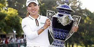 Kim donates winner's check from Ochoa event