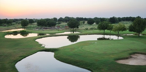 The Kensville Golf Club near Ahmedabad, in the Indian state of Gujarat.