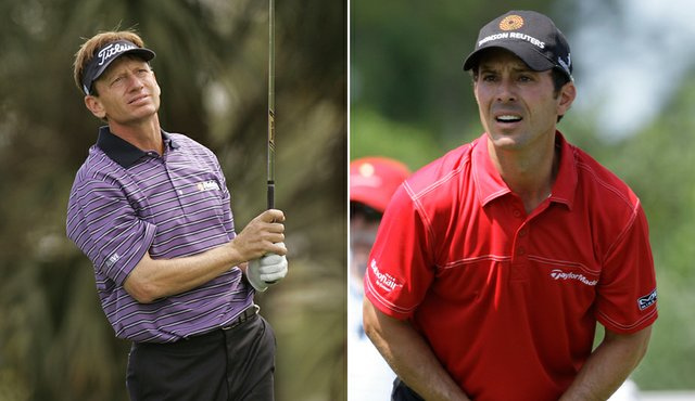 Brad Faxon and Mike Weir