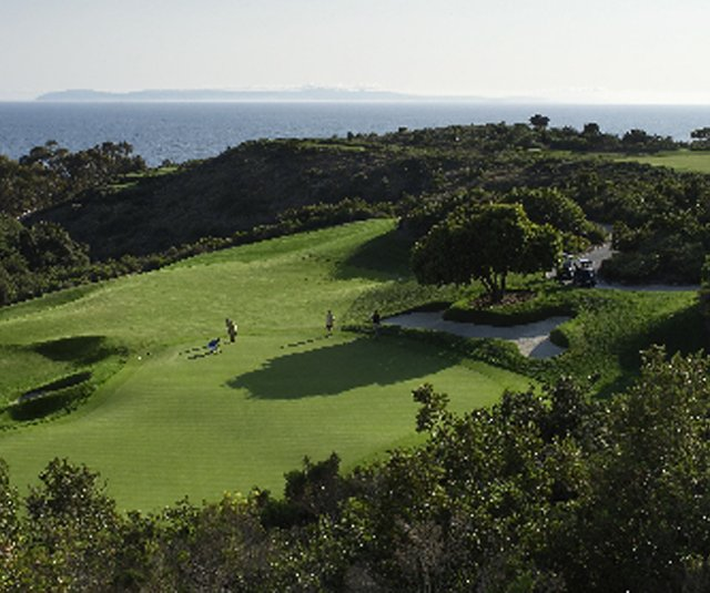 The 18th hole at Pelican Hill.